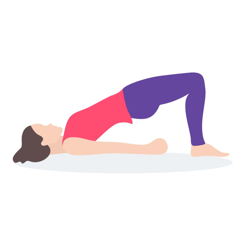 Bridge Yoga Pose