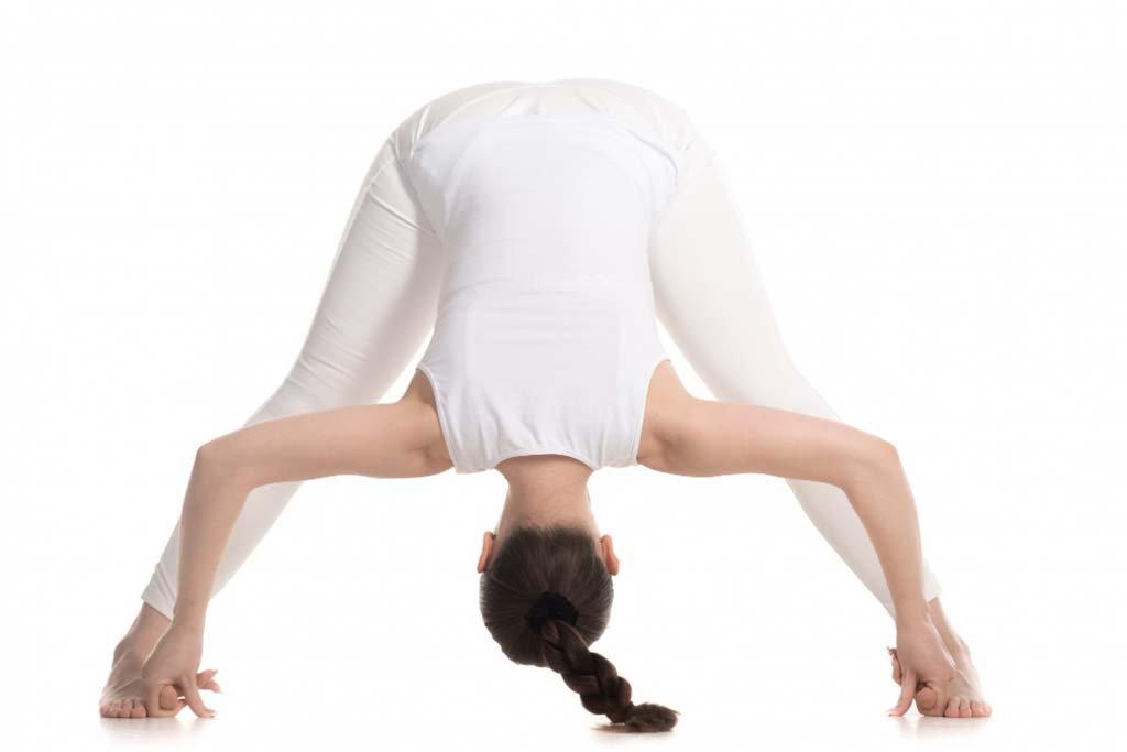 Wide legged Forward Fold