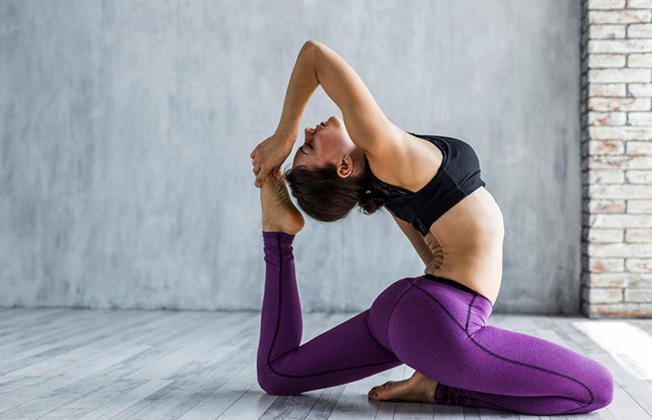 Yoga to see result