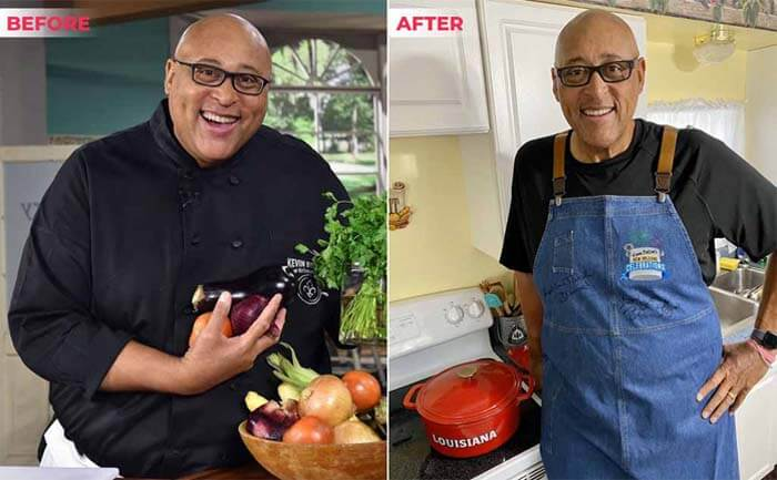 Kevin Belton weight loss Before after