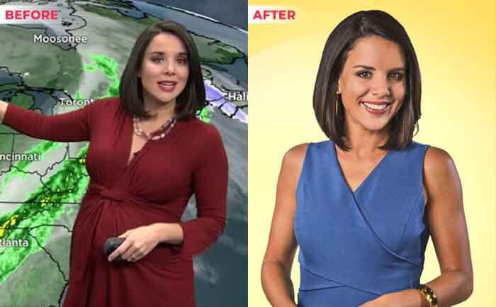 Kate Bilo weight loss before after