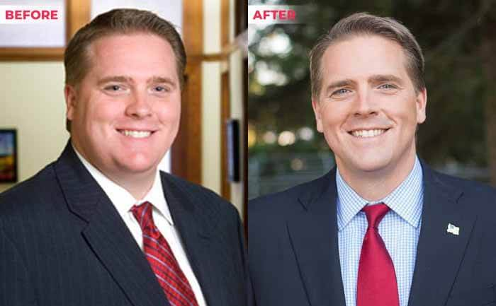 Scott Jennings weight loss before after