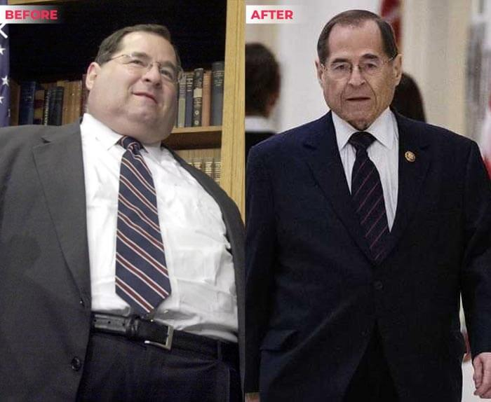 Jerry nadler weight loss before after