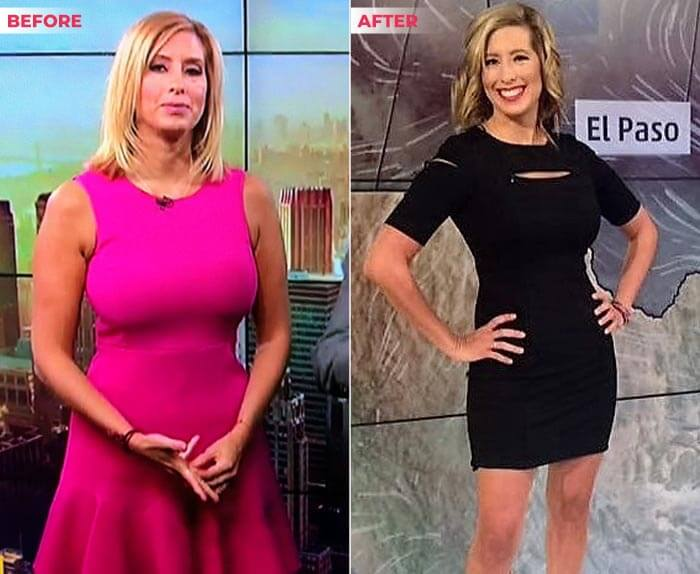 Stephanie Abrams Weight Loss before after