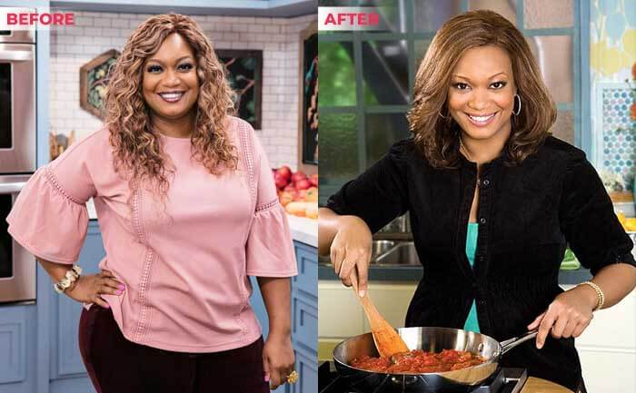 Sunny Anderson Weight loss before after