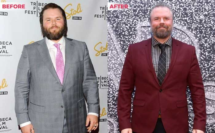 tyler labine weight loss before after